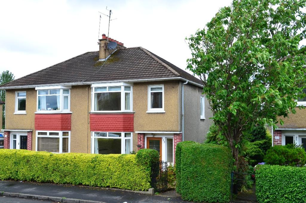 3 Bedrooms Semi Detached House for sale in Weymouth Drive, Kelvindale, Glasgow, G12 0EW