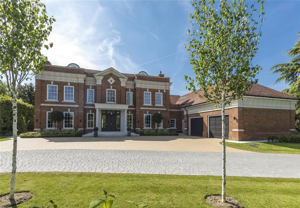 7 Bedrooms Detached House for sale in Furze Field, Oxshott, Leatherhead, Surrey, KT22