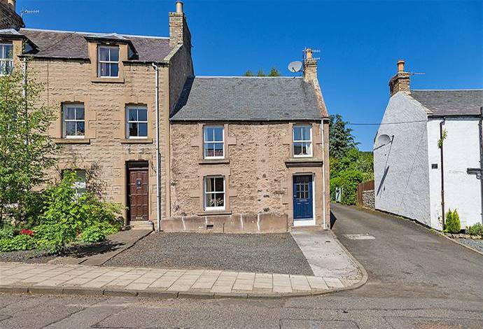 2 Bedrooms Terraced House for sale in 81 Castlegate, Jedburgh, TD8 6BD