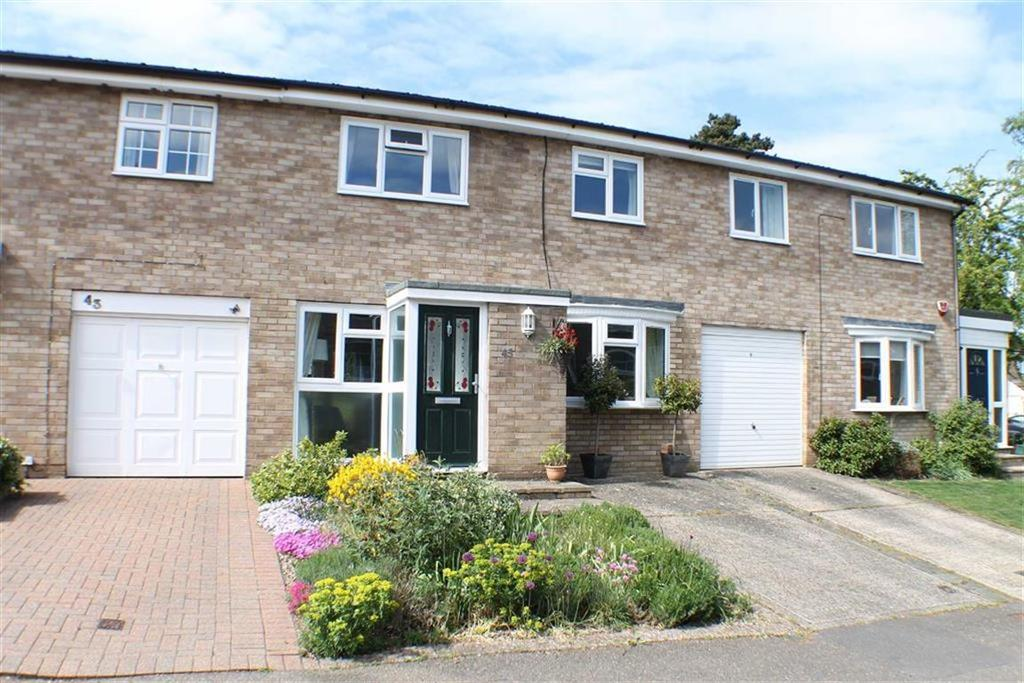 3 Bedrooms Terraced House for sale in Aplins Close, Harpenden, Hertfordshire, AL5