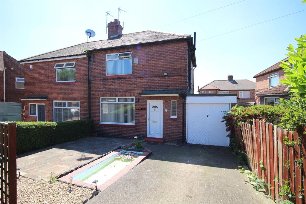 3 Bedrooms Semi Detached House for sale in Heyburn Gardens, Newcastle Upon Tyne