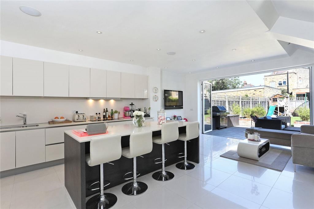 4 Bedrooms Terraced House for sale in Inglethorpe Street, London, SW6