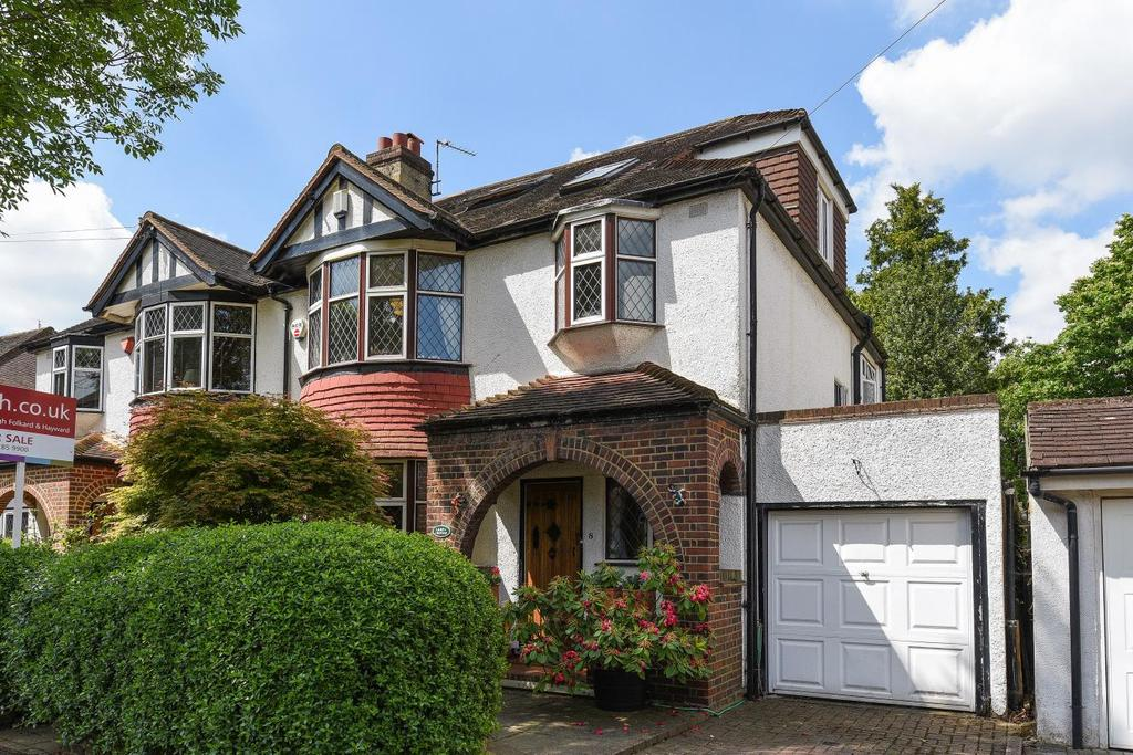4 Bedrooms Semi Detached House for sale in Falcon Avenue, Bromley