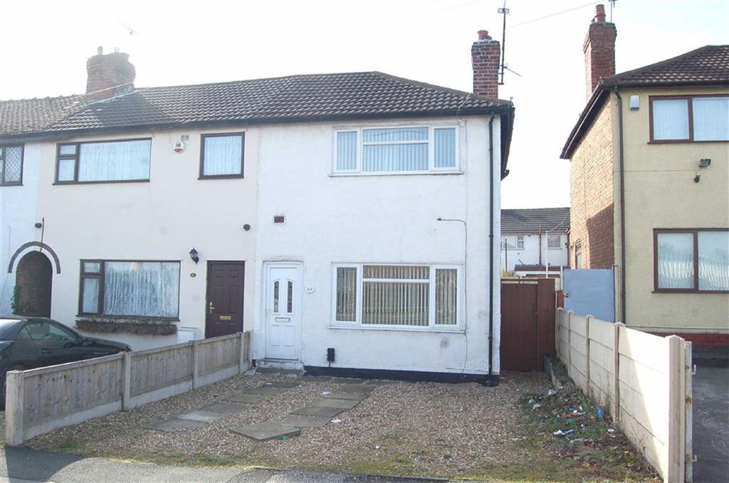 2 Bedrooms Town House for sale in Cromwell Road, Ellesmere Port