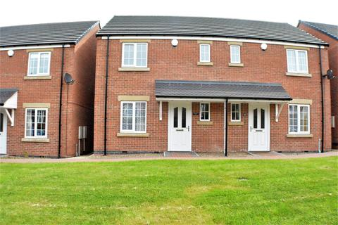 2 bedroom semi-detached house to rent - Littleworth, Mansfield