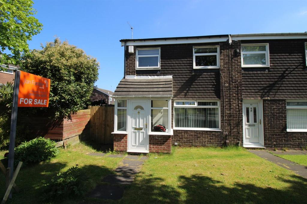 3 Bedrooms End Of Terrace House for sale in Tudor Way, Kingston Park, Newcastle Upon Tyne