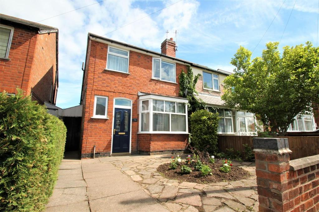 3 Bedrooms Semi Detached House for sale in Collingham Road, Rowley Fields, Leicester