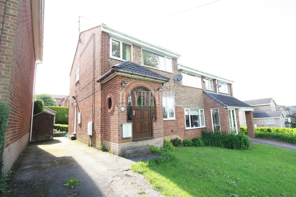 3 Bedrooms Semi Detached House for sale in High Matlock Road, Stannington