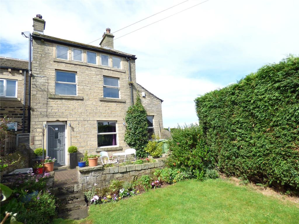 4 Bedrooms Semi Detached House for sale in Chapelgate, Scholes, Holmfirth, HD9