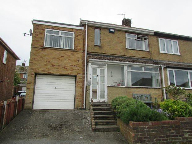 3 Bedrooms Semi Detached House for sale in LULWORTH GROVE, HART STATION, HARTLEPOOL