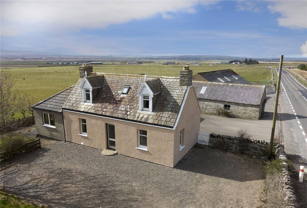 3 Bedrooms Detached House for sale in Achalone Cottage, Halkirk, Caithness, KW12