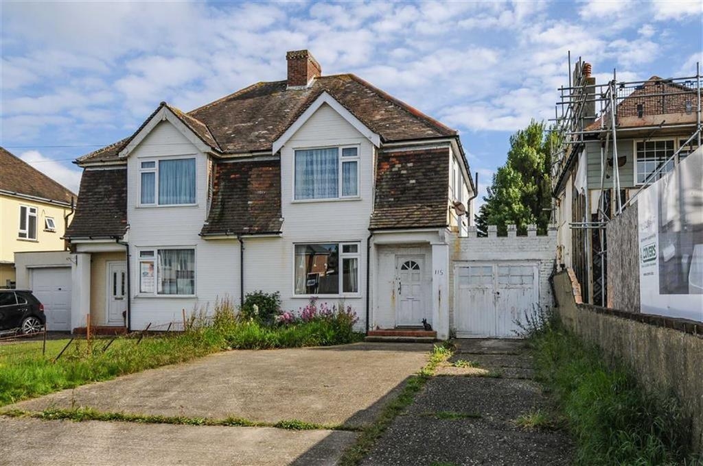 3 Bedrooms Semi Detached House for sale in Stocks Lane, East Wittering, West Sussex