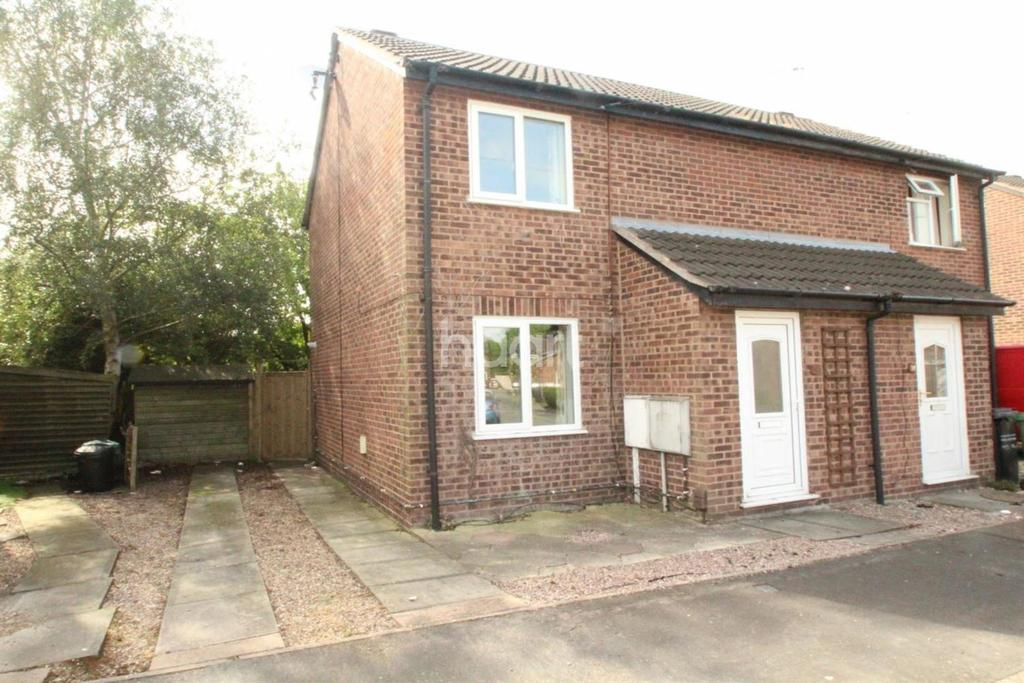 2 Bedrooms Semi Detached House for sale in Deanside Drive, Loughborough