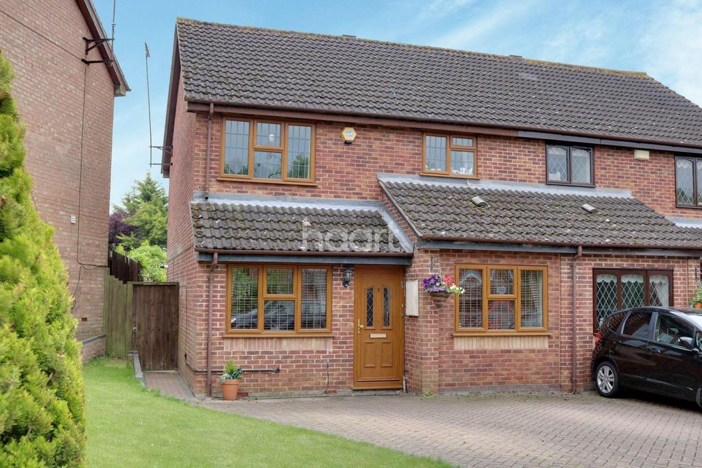 3 Bedrooms Semi Detached House for sale in Retford Close, The Campions, Borehamwood