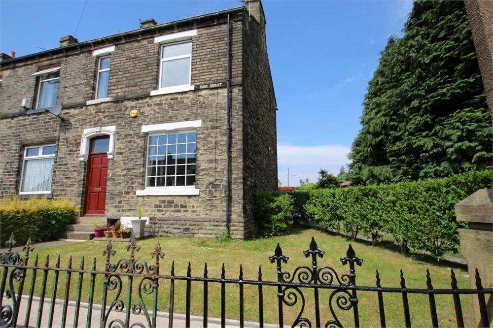3 Bedrooms End Of Terrace House for sale in Rose Mount, North View Road, BRADFORD 4, West Yorkshire