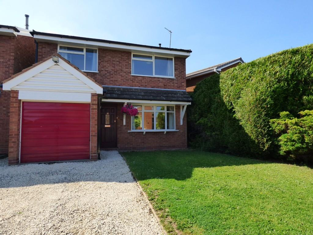 3 Bedrooms Detached House for sale in Worcester Close, Lichfield