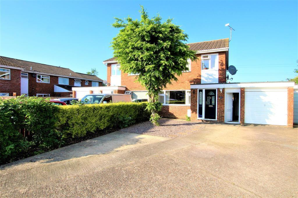 3 Bedrooms Semi Detached House for sale in Squires Road, Marston Moretaine, Bedfordshire, MK43 0QL