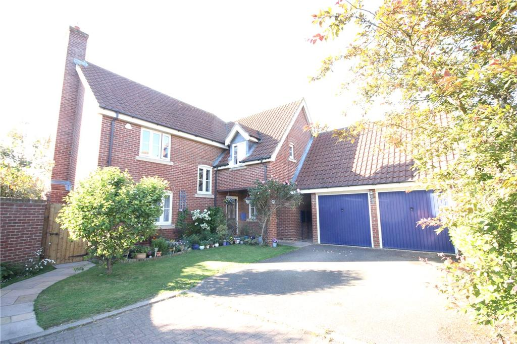 4 Bedrooms Detached House for sale in Damms Pastures, Highfields Caldecote, Cambridge, CB23