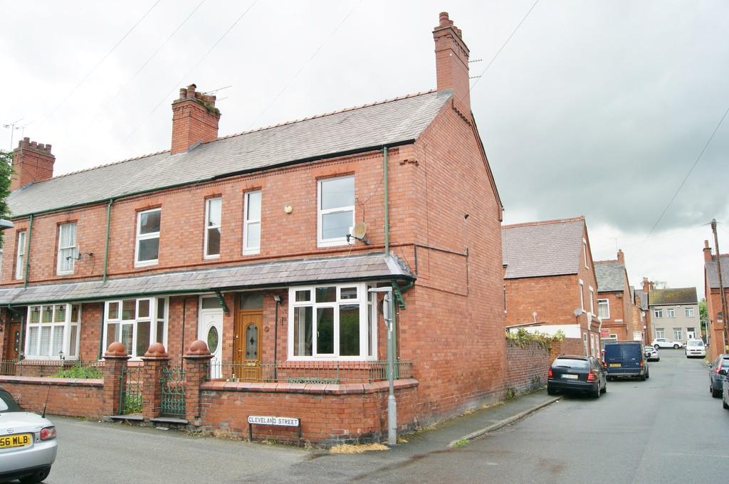 2 Bedrooms End Of Terrace House for sale in Cleveland Street, Ruabon