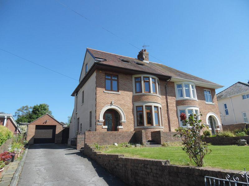 4 Bedrooms Semi Detached House for sale in West Road Bridgend CF31 4HQ