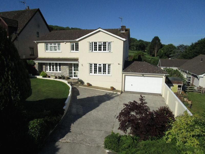 4 Bedrooms Detached House for sale in Derlwyn, Stoney Lane, Corntown, Vale of Glamorgan