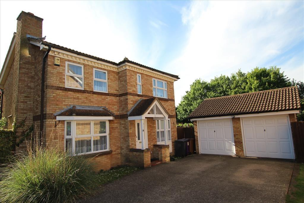 4 Bedrooms Detached House for sale in Hurst Close, BALDOCK, SG7