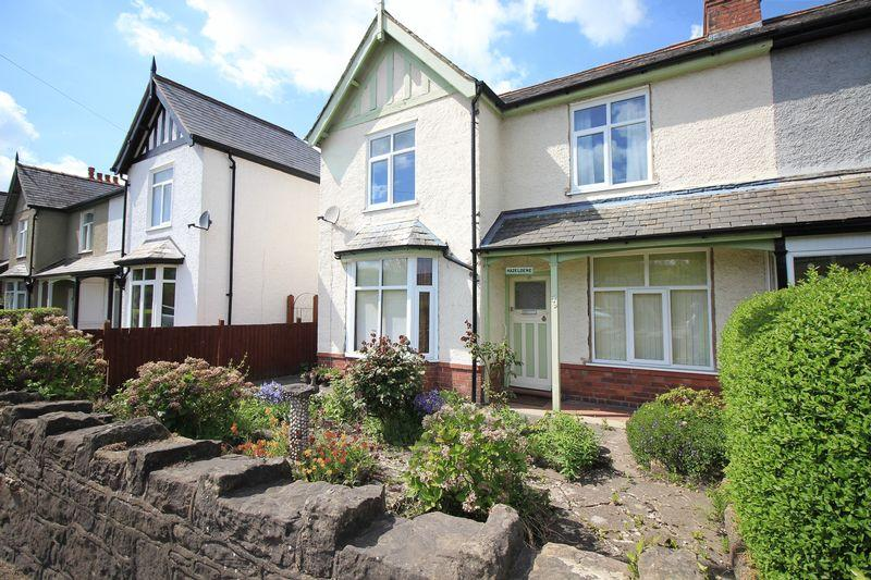 3 Bedrooms Semi Detached House for sale in Gobowen Road, Oswestry