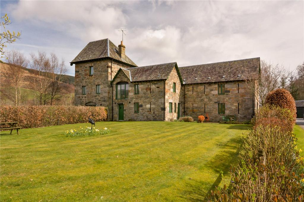 5 Bedrooms End Of Terrace House for sale in Mill House, Mains Of Comrie, Keltneyburn, Aberfeldy, PH15