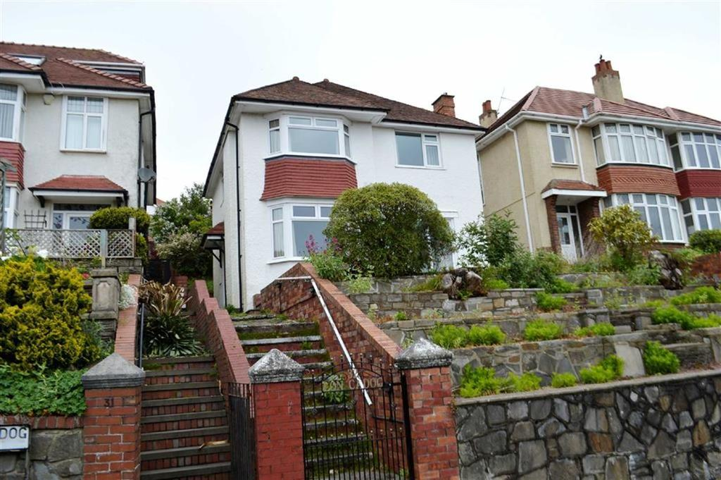 3 Bedrooms Detached House for sale in Lon Cadog, Swansea, SA2