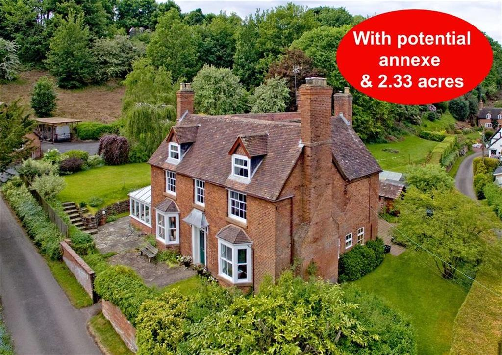 6 Bedrooms Detached House for sale in Hillside, Worfield, Bridgnorth, Shropshire, WV15