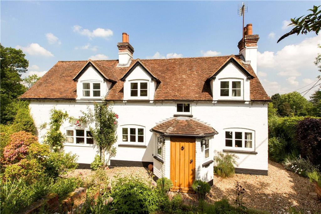 4 Bedrooms Detached House for sale in Rotten Row, Bradfield, Reading, Berkshire, RG7