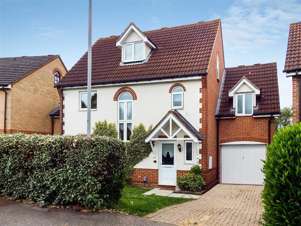 4 Bedrooms Detached House for sale in Lomond Way, Stevenage, Hertfordshire, SG1