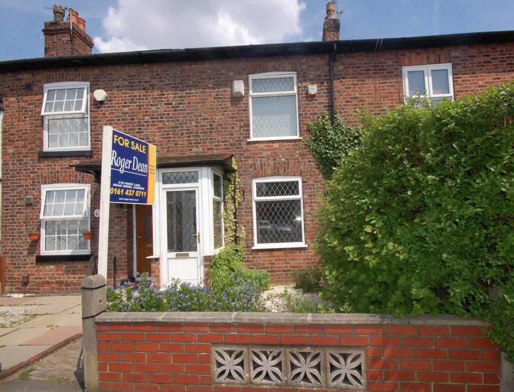 2 Bedrooms Terraced House for sale in Wilmslow Road, Heald Green, Cheadle, Cheshire SK8