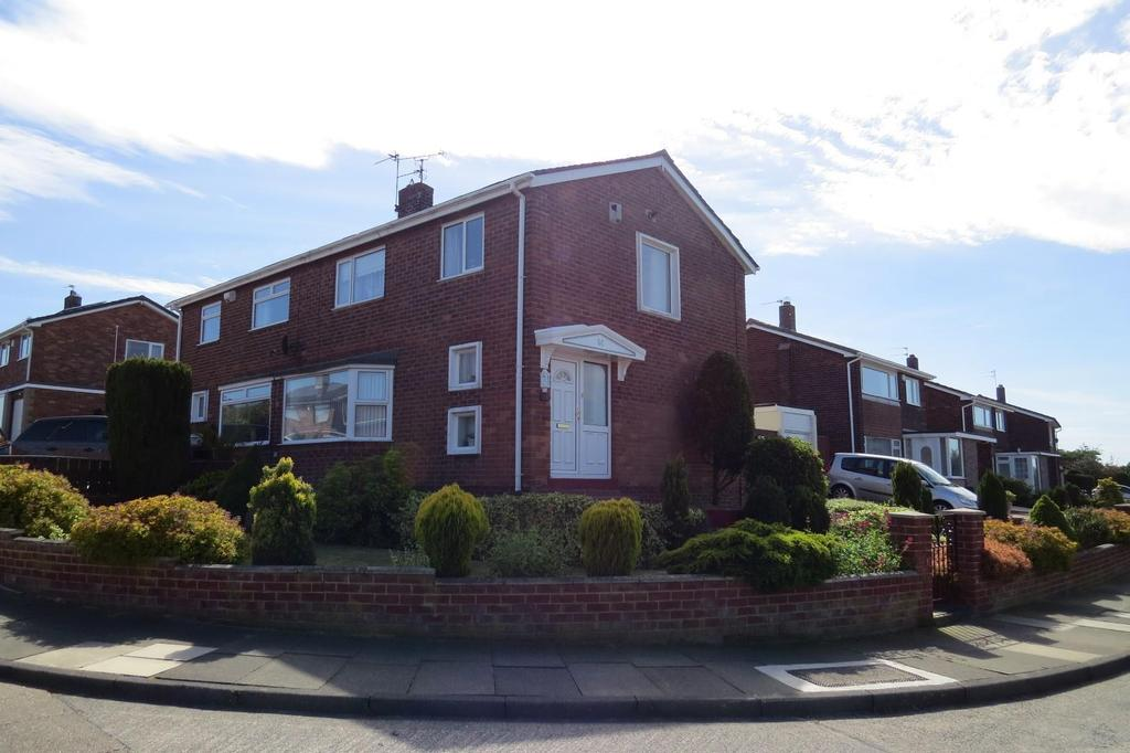 3 Bedrooms Semi Detached House for sale in Ringway, Wansbeck Estate, Stakeford
