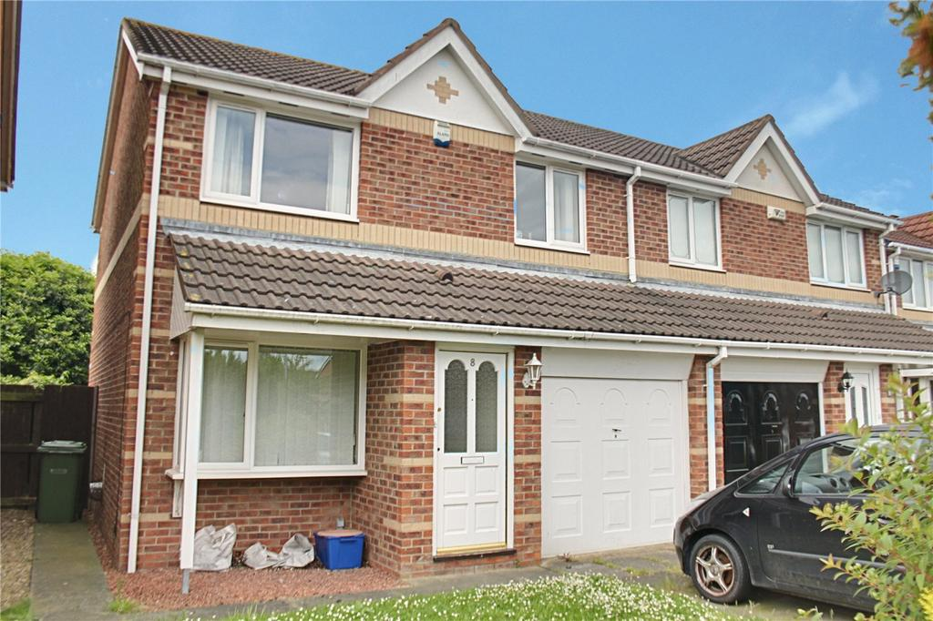 3 Bedrooms Semi Detached House for sale in Wharfedale Close, Ingleby Barwick