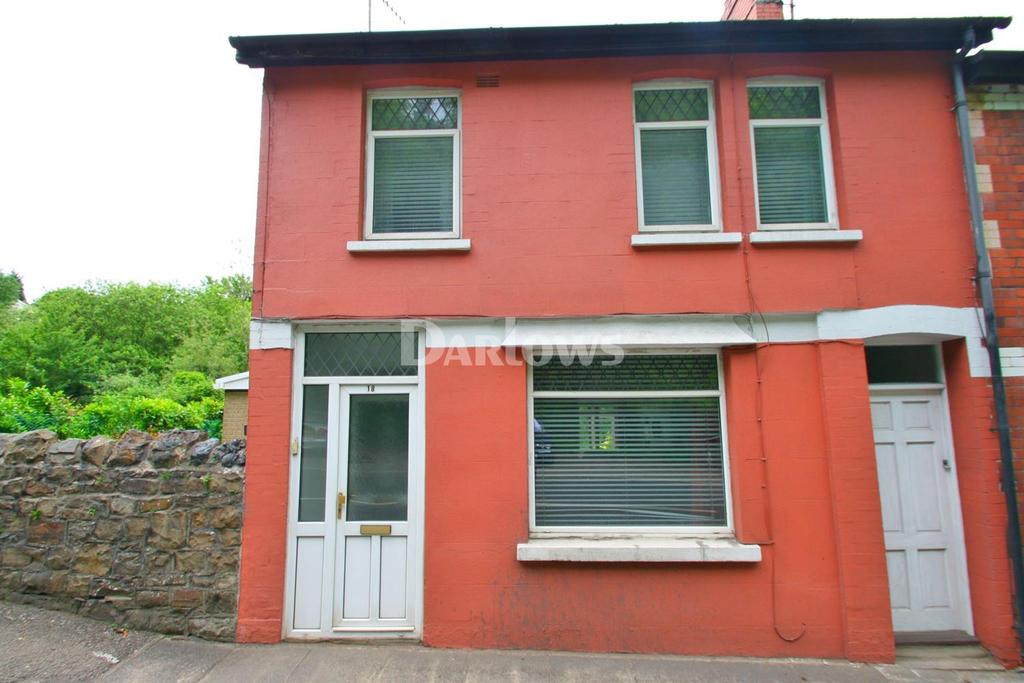3 Bedrooms End Of Terrace House for sale in Cleaves Terrace, Foundry Road, Pontypool