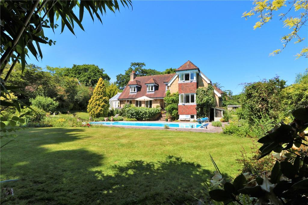 6 Bedrooms Detached House for sale in Hollywood Lane, Lymington, Hampshire, SO41