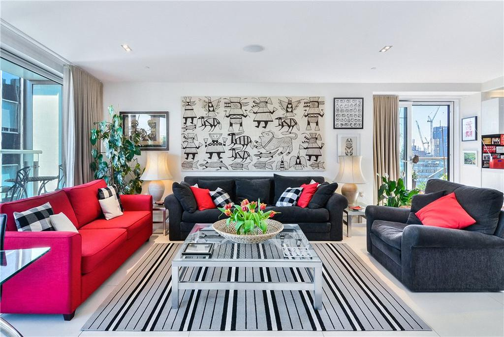 2 Bedrooms Flat for sale in Bezier Apartments, 91 City Road, London, EC1Y