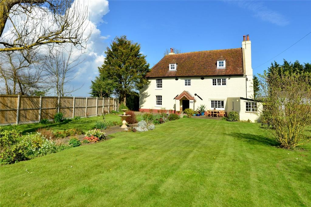5 Bedrooms Detached House for sale in Island Road, Upstreet, Canterbury, Kent