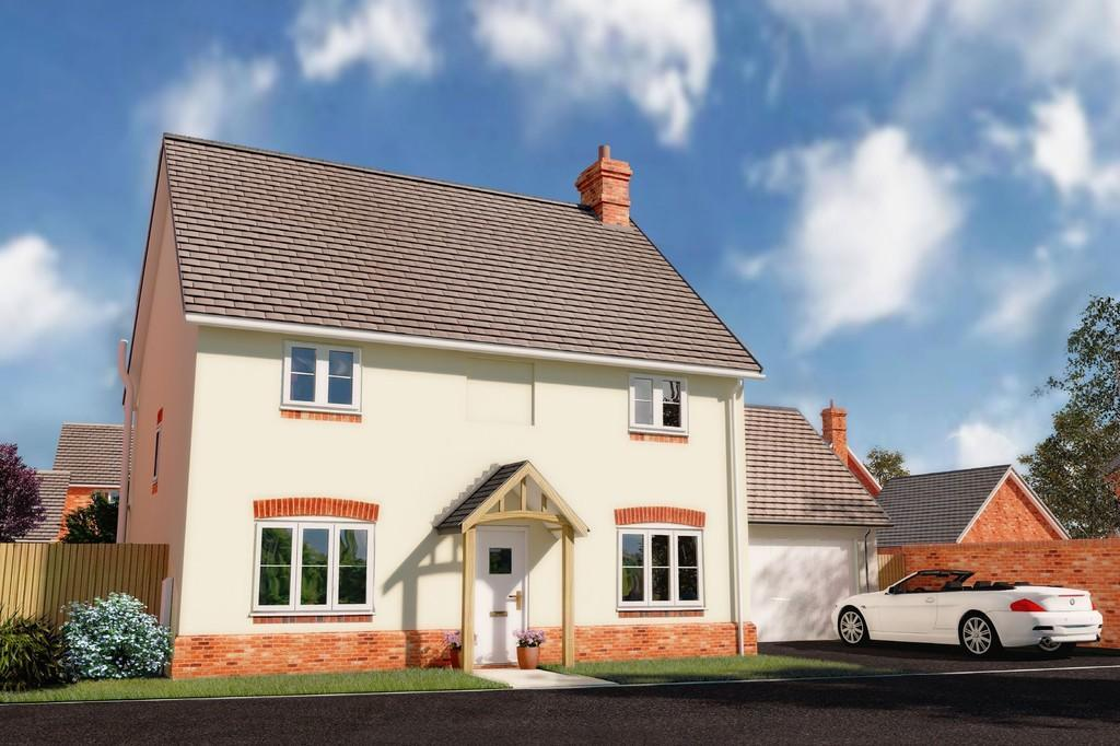 4 Bedrooms Detached House for sale in Plot 17, Waterside Meadow, Whitchurch