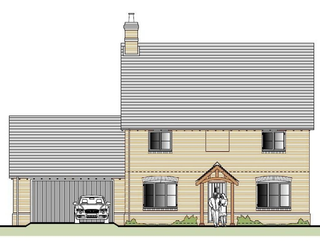 4 Bedrooms Detached House for sale in Plot 18, Waterside Meadow, Whitchurch