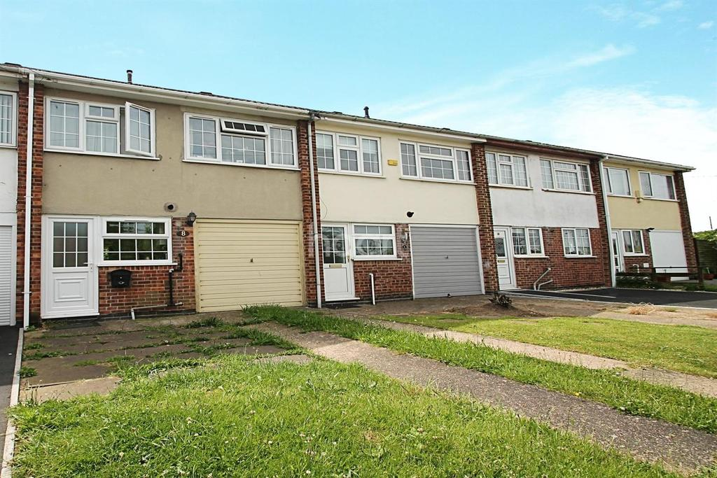 3 Bedrooms Terraced House for sale in Hatchets Lane, Newark