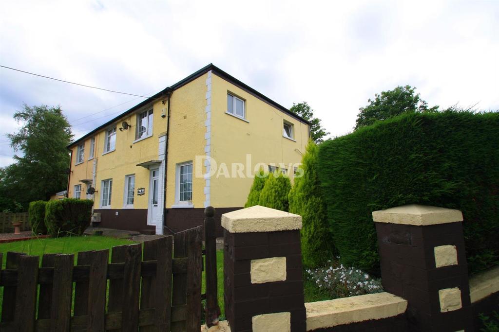 4 Bedrooms Semi Detached House for sale in Chez-Nous, Varteg Road, Varteg, Pontypool