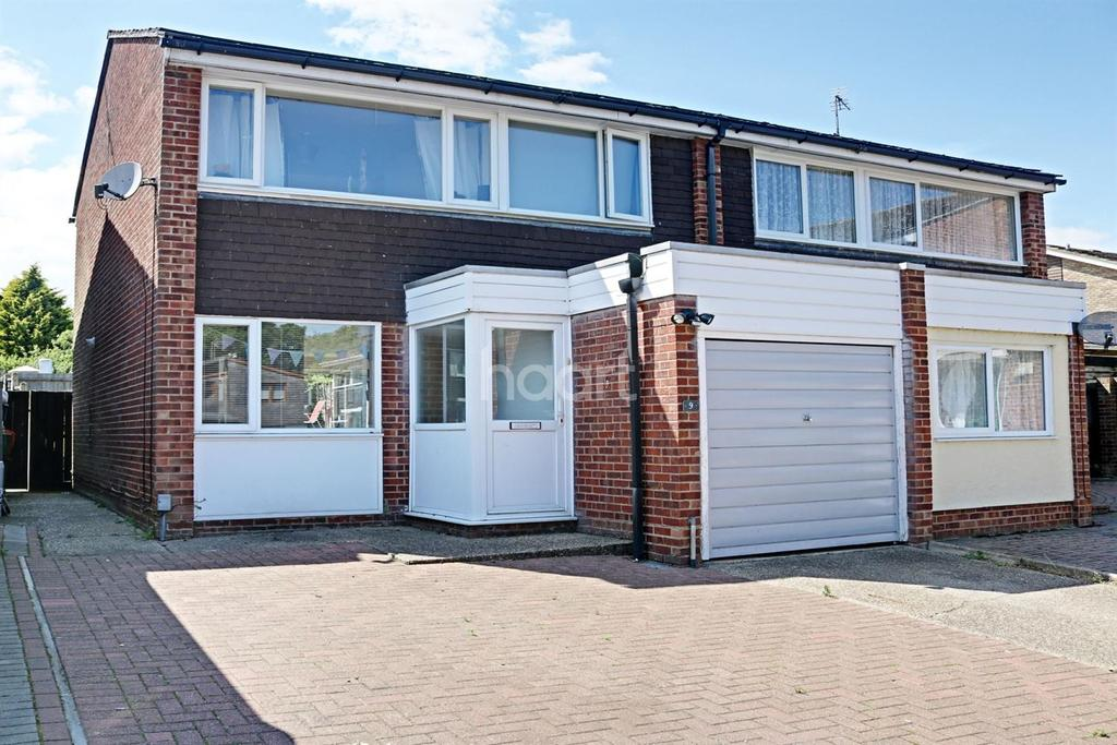 3 Bedrooms Semi Detached House for sale in Darwin Close, Colchester, CO2