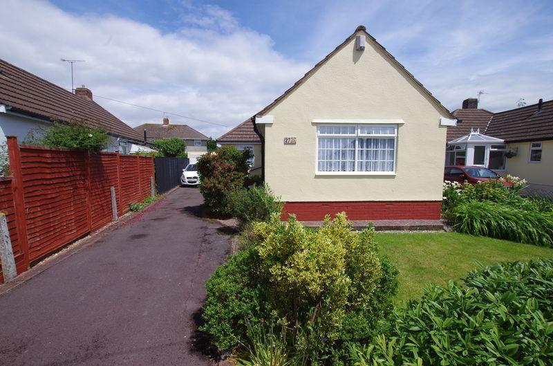 2 Bedrooms Detached Bungalow for sale in Newbourne Road, Weston-Super-Mare