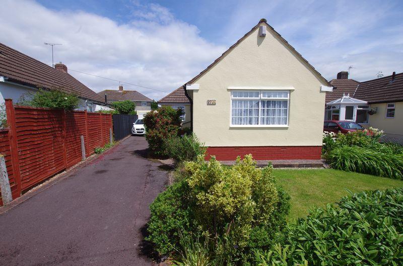2 Bedrooms Detached Bungalow for sale in Newbourne Road, Weston-Super-Mare