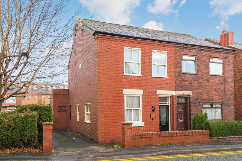 3 Bedrooms Semi Detached House for sale in Warrington Road, Culcheth