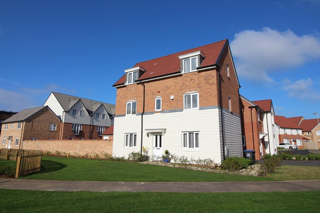 4 Bedrooms Detached House for sale in Sovereign Place, Prince's Gate, The Ryde, Hatfield, AL9