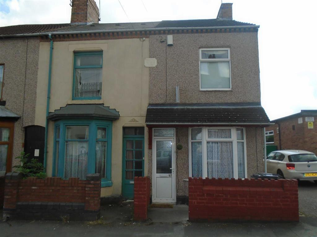 3 Bedrooms End Of Terrace House for sale in Fife Street, Nuneaton, Warwickshire, CV11