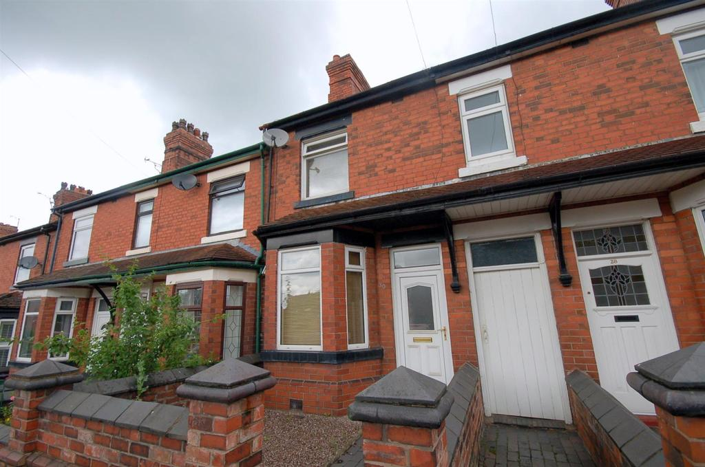 2 Bedrooms Terraced House for sale in New Road, Bignall End